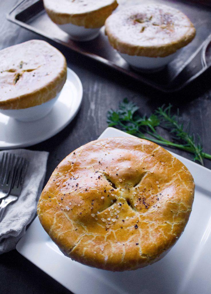 Fall Harvest Chicken Pot Pie {Gluten-Free, Dairy-Free}