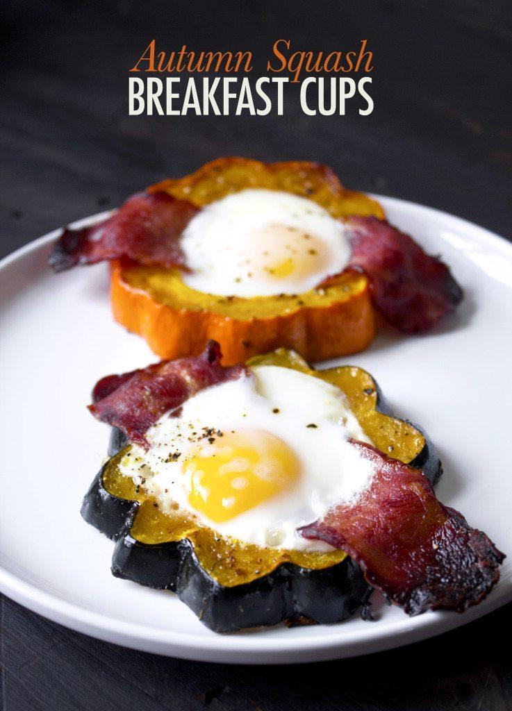 Autumn Squash Breakfast Cups