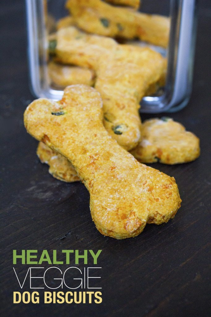 Healthy Veggie Dog Biscuits—Only 4 Ingredients!
