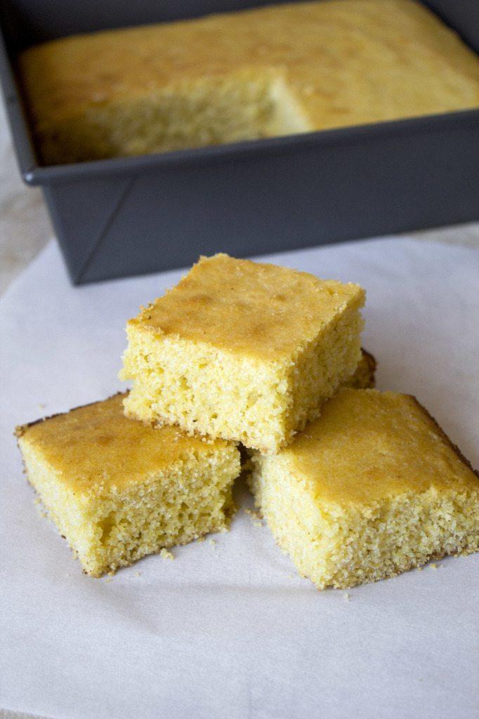 Sweet Yellow Cornbread