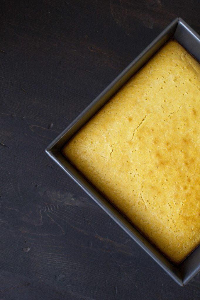 Sweet Yellow Cornbread | Can be adapted to be gluten, dairy, and egg free, as well as vegan!