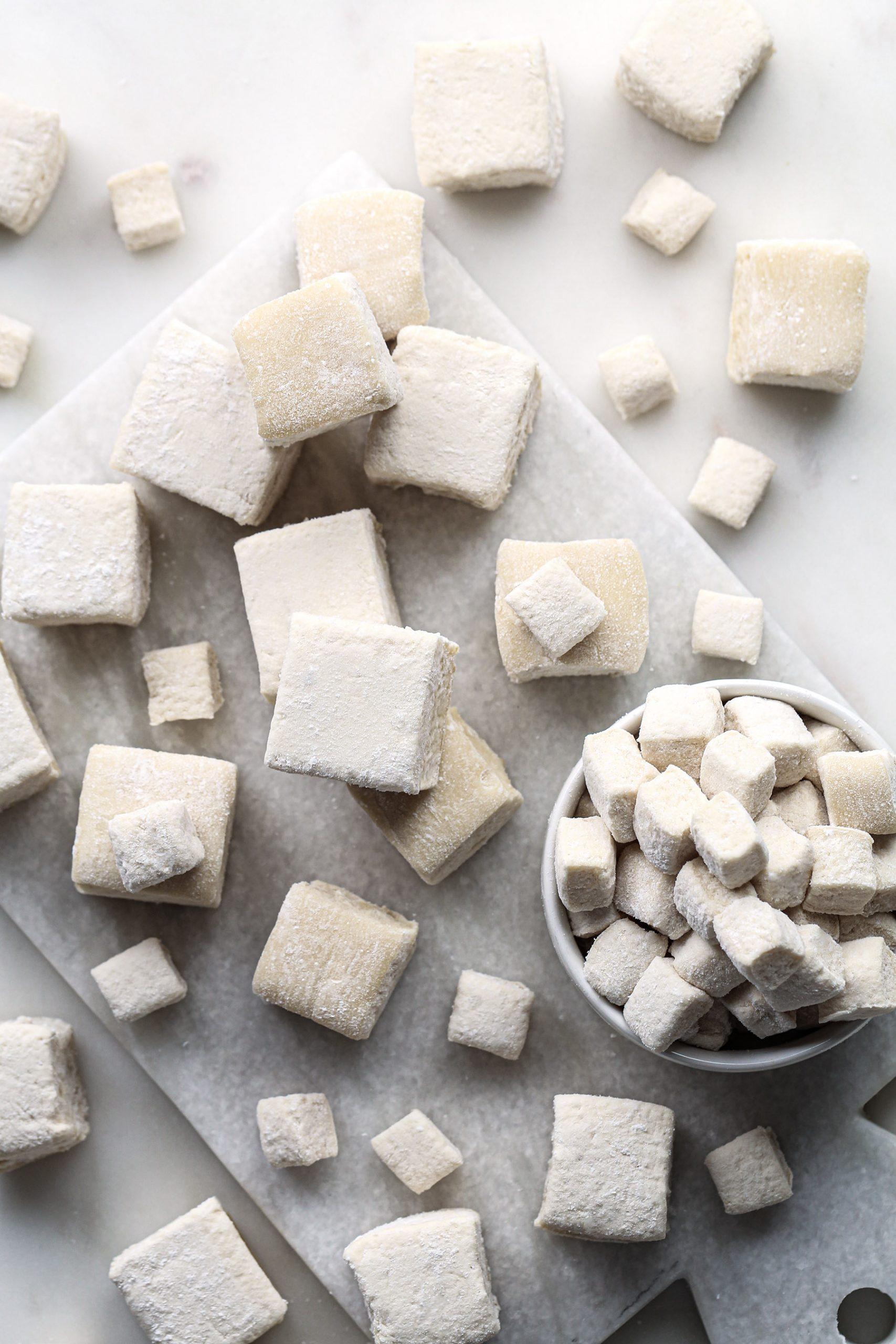 Healthier Honey Vanilla Marshmallows