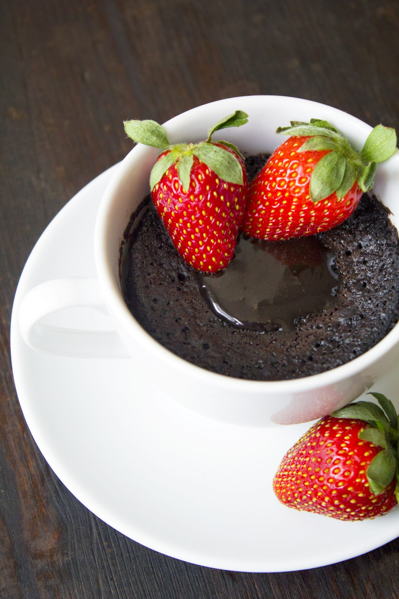 Chocolate Lava Mug Cake | Wife Mama Foodie