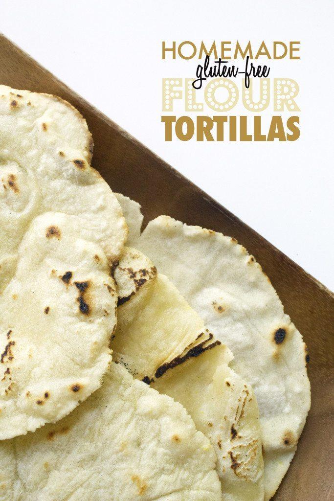 Homemade Gluten-Free Flour Tortillas | Easy to make and vegan-friendly!
