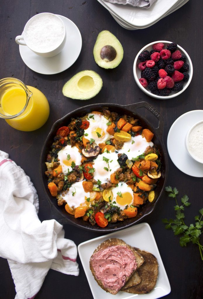 Sausage & Veggie Breakfast Skillet | Grain, Gluten, and Dairy Free!