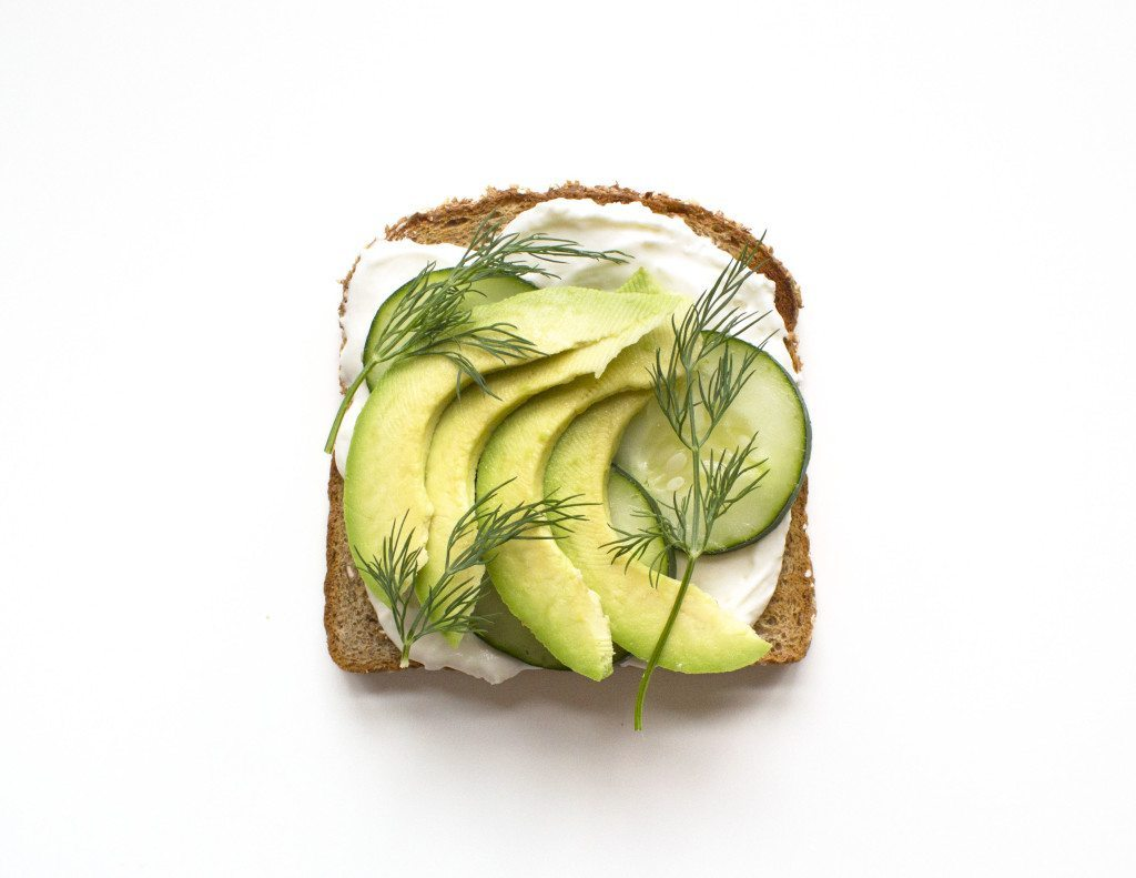Ten Tasty Toast Ideas | Cream Cheese, Cucumber, Avocado, & Dill
