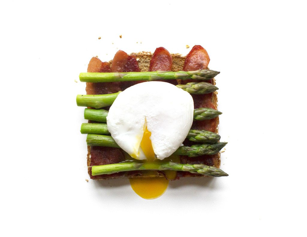 Ten Tasty Toast Ideas | Bacon, Asparagus, & Poached Egg