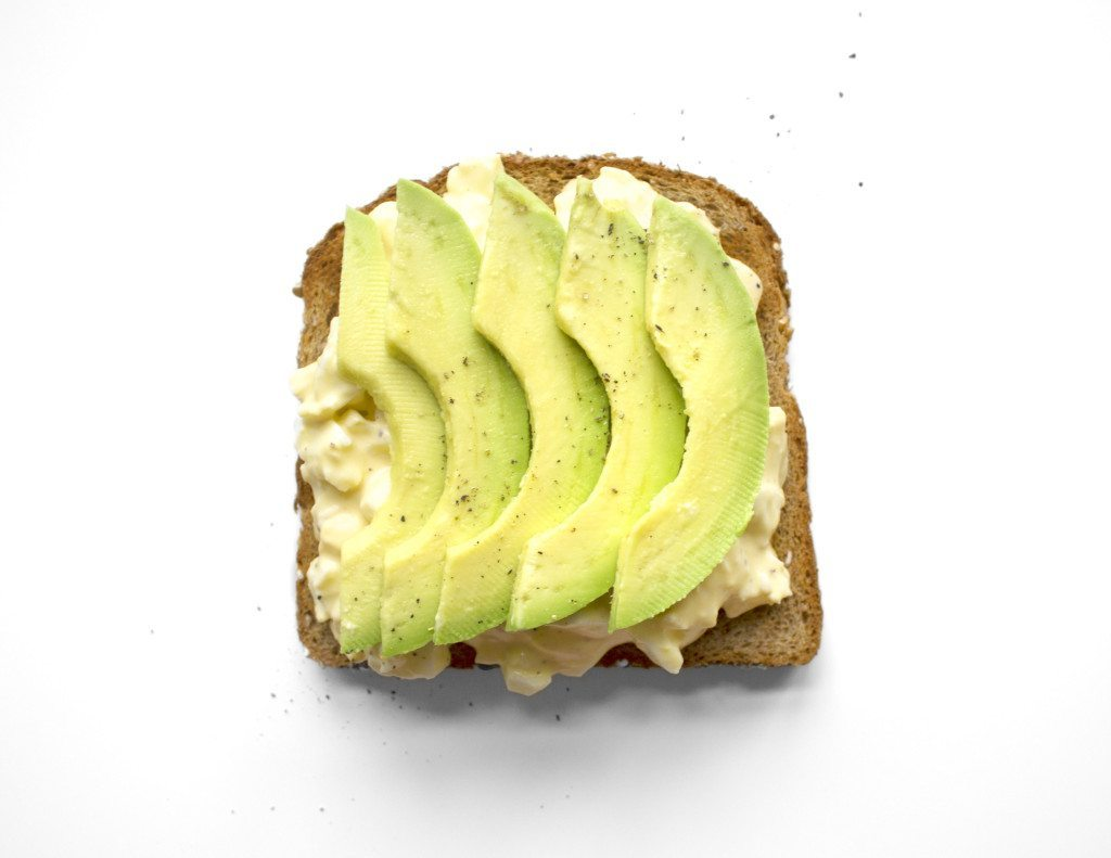Ten Tasty Toast Ideas | Egg Salad & Avocado