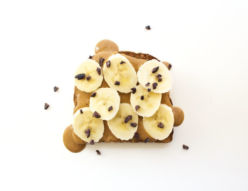 Ten Tasty Toast Ideas | Peanut Butter, Banana, & Chocolate