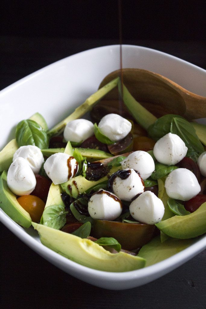 Avocado Caprese Salad | Simple, delicious, and ready in minutes!