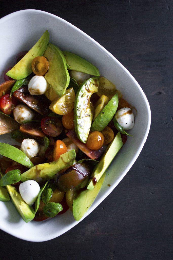 Avocado Caprese Salad | Simple, delicious, and ready in minutes!
