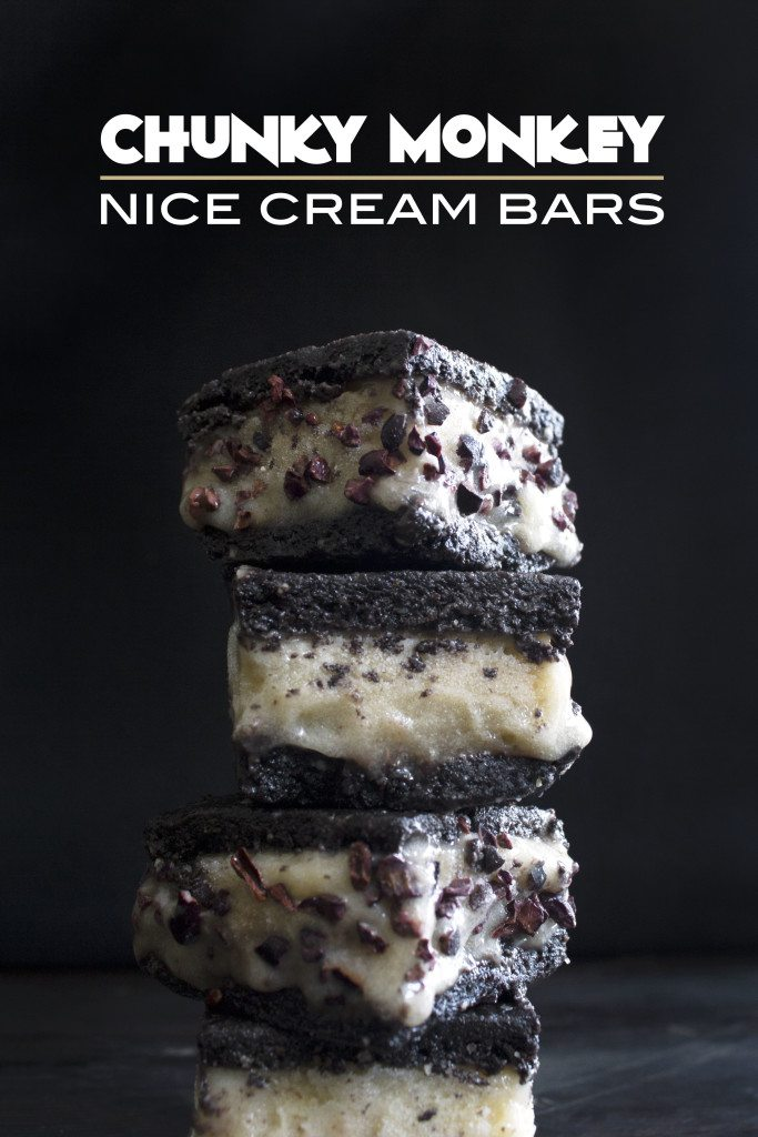 Chunky Monkey Nice Cream Bars | Raw, vegan, & grain-free