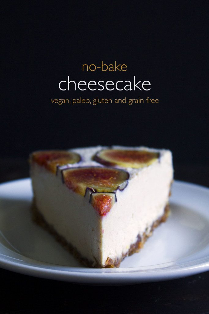No-Bake Cheesecake | Vegan, Paleo, Gluten and Grain Free