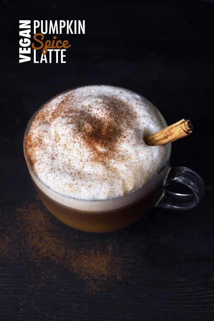 Vegan Pumpkin Spice Latte | Wifemamafoodie