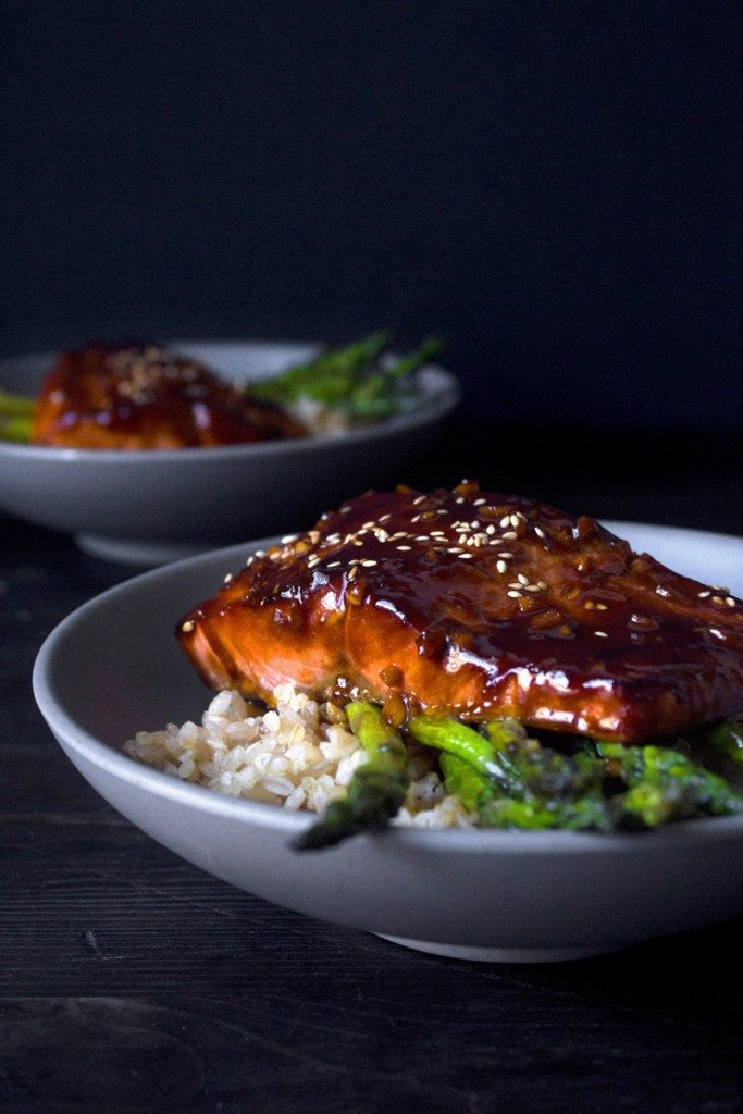 Simple Teriyaki Salmon Bowl Wife Mama Foodie