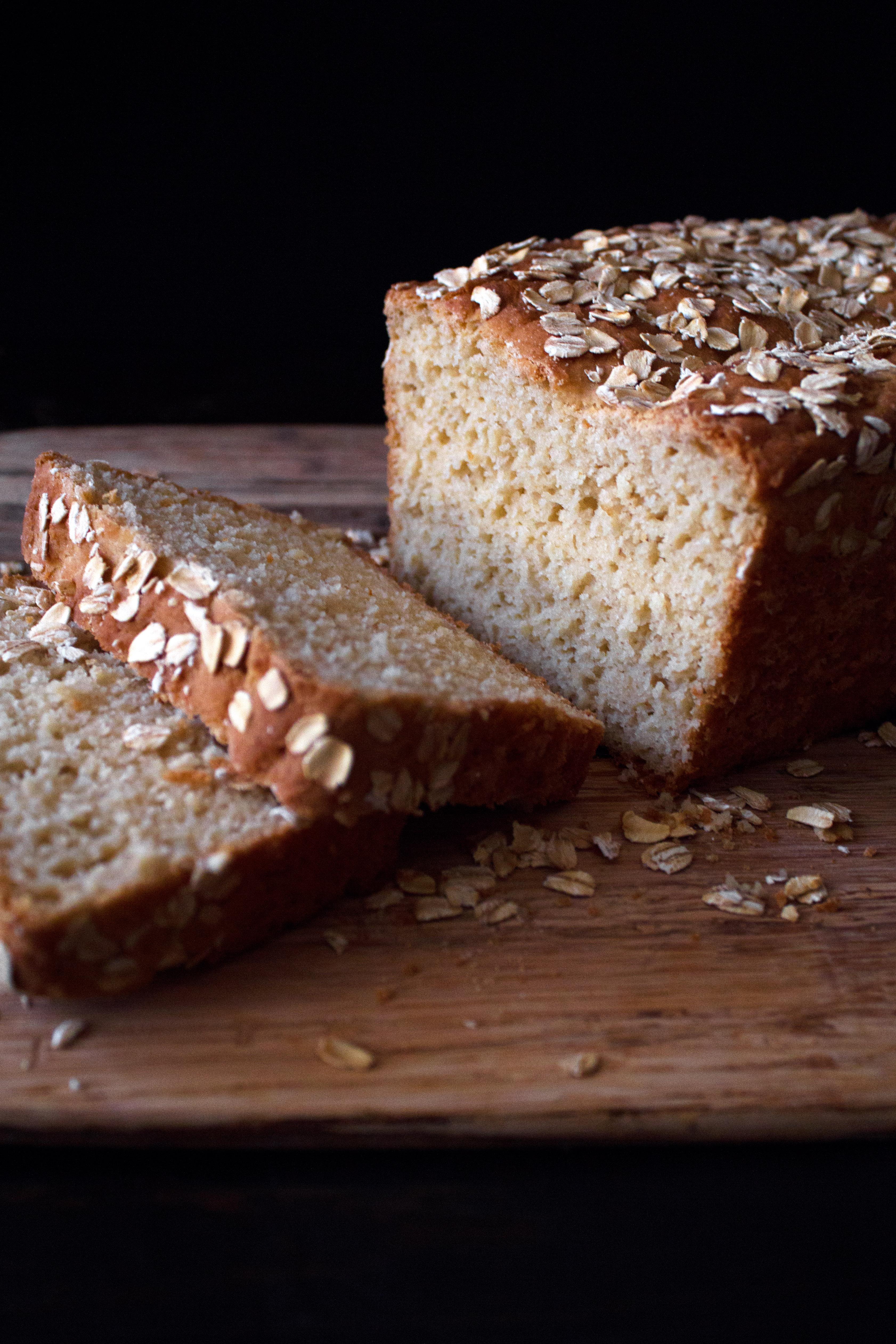 Gluten Free Oat Bread | Wife Mama Foodie