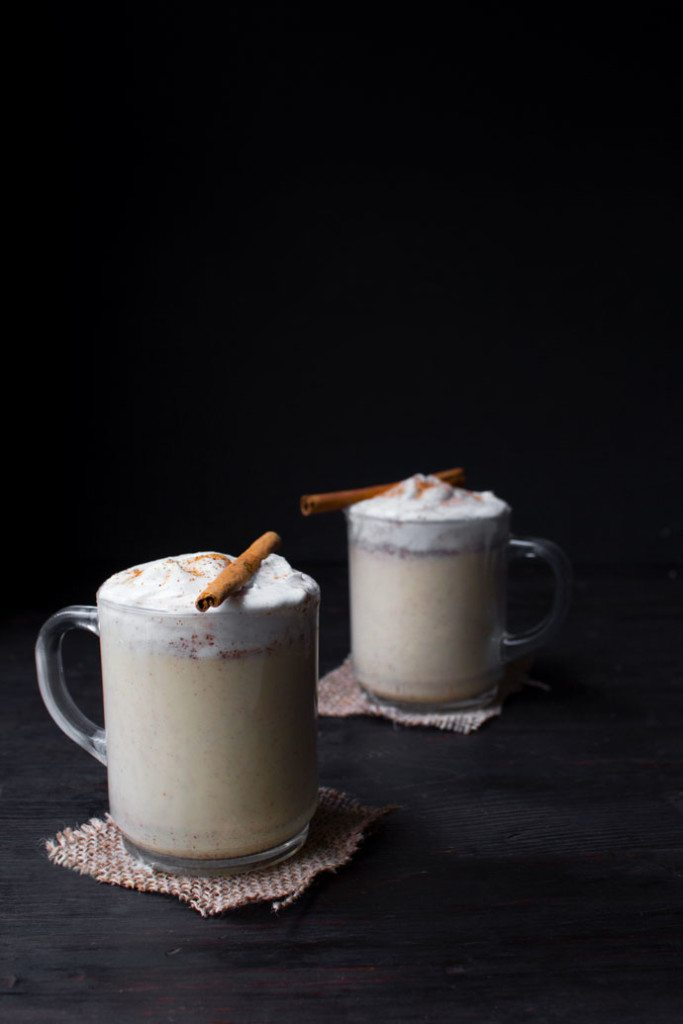 Dairy-Free Eggnog | Made with healthier ingredients and has no refined sugar.