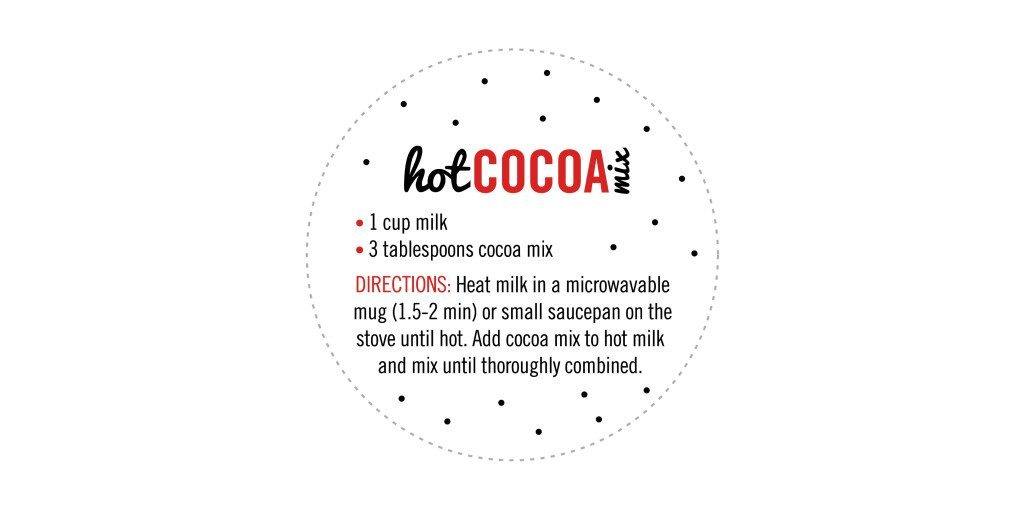 Free Printable Tags For Hot Cocoa Mix In A Jar