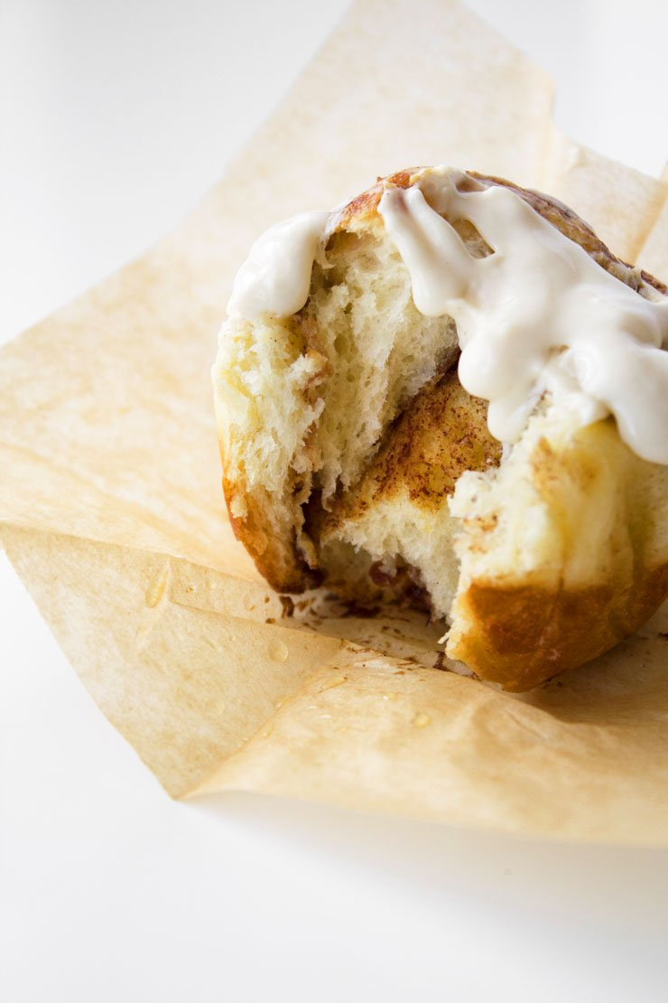 Eggnog Cinna-Muffins | Refined sugar free and can easily be modified to be dairy free.
