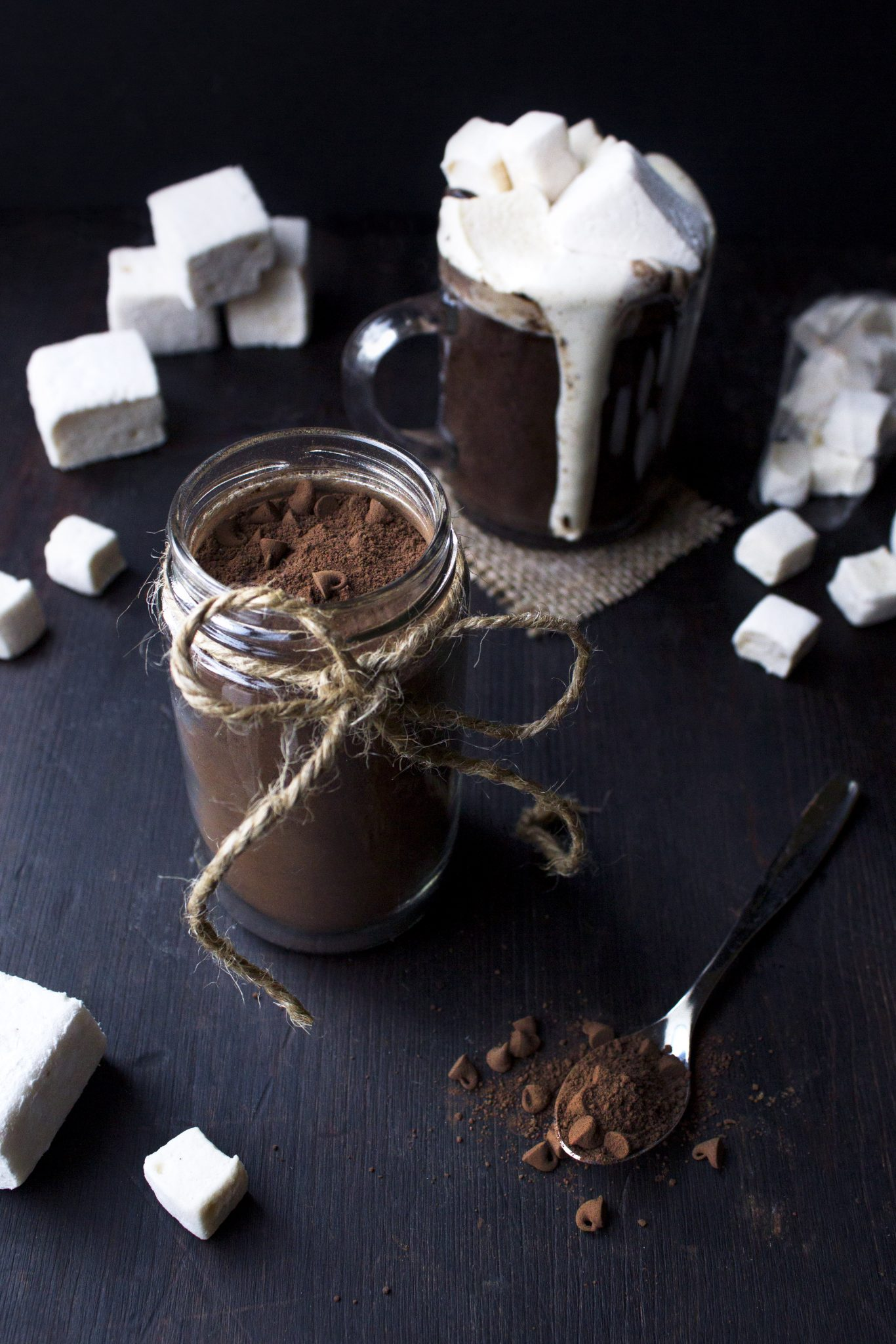 Dairy-Free Hot Chocolate Mix in a Jar | Wife Mama Foodie