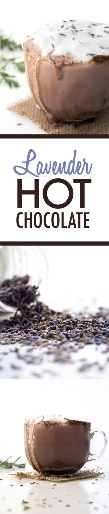 Lavender Hot Chocolate | Vegan, Dairy and Refined Sugar Free