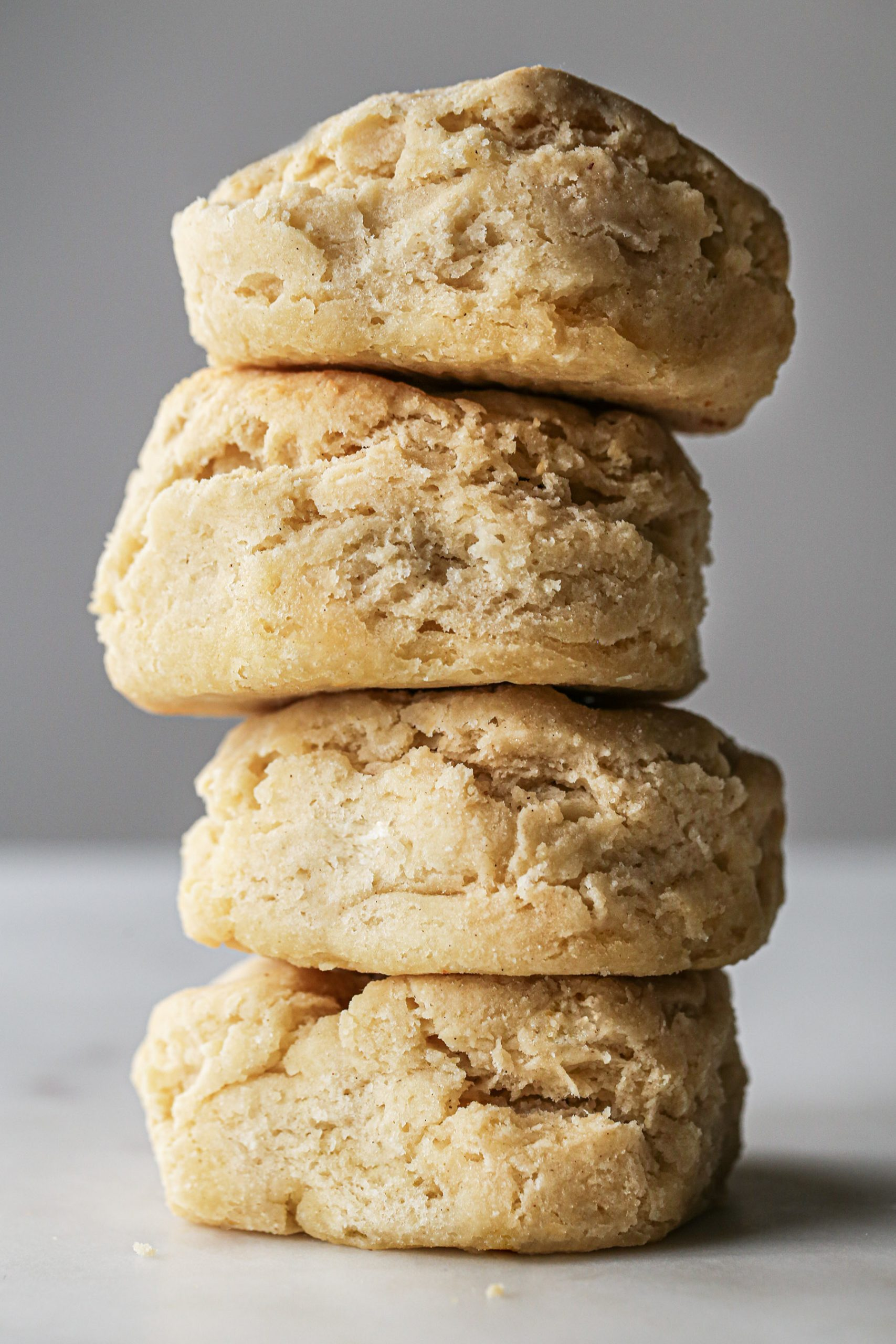 Gluten Free Fluffy Biscuits | Vegan option included