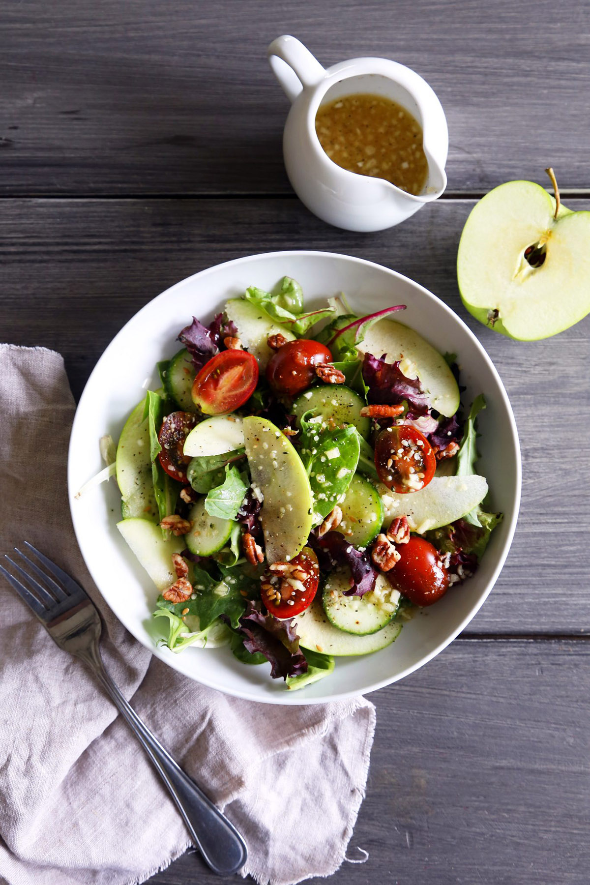 Mixed Greens with Apple Cider Vinaigrette