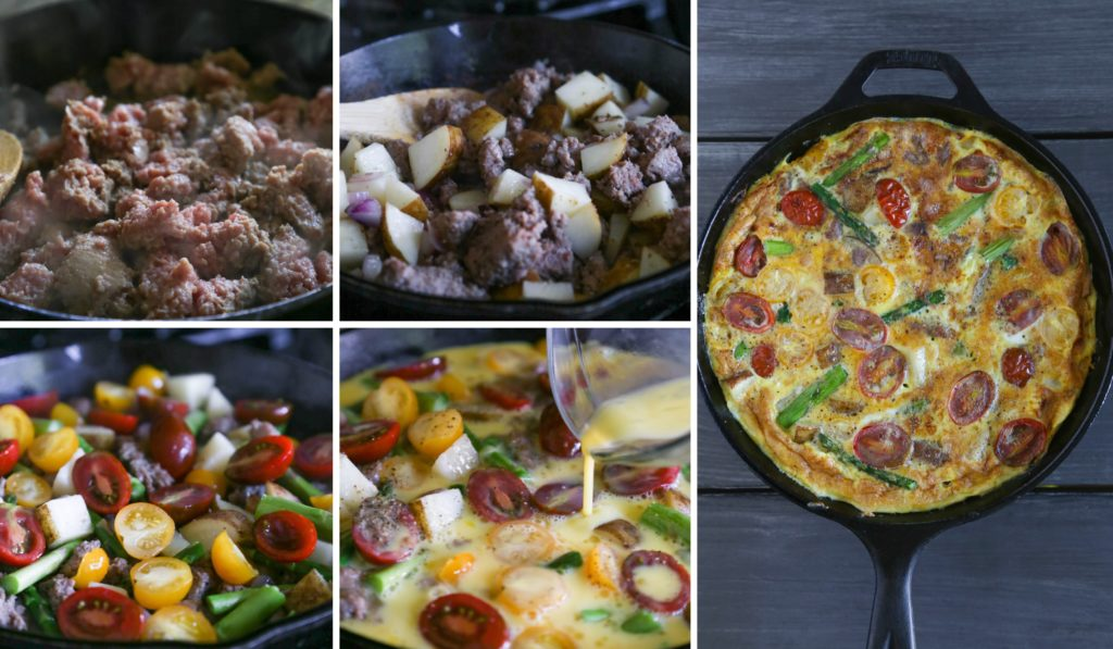 Mother's Day Brunch Recipes | Dairy-Free Sausage & Veggie Frittata