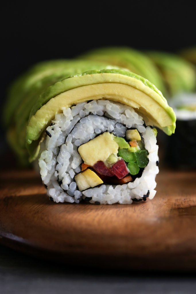Homemade Veggie Sushi & 3 Different Ways to Roll   Vegan, vegetarian, & gluten-free!