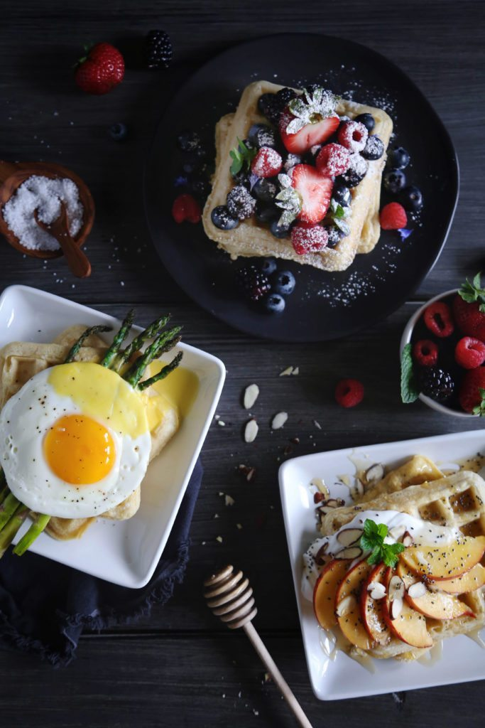Sweet or Savory Waffles | Free of gluten, dairy, and refined sugar.