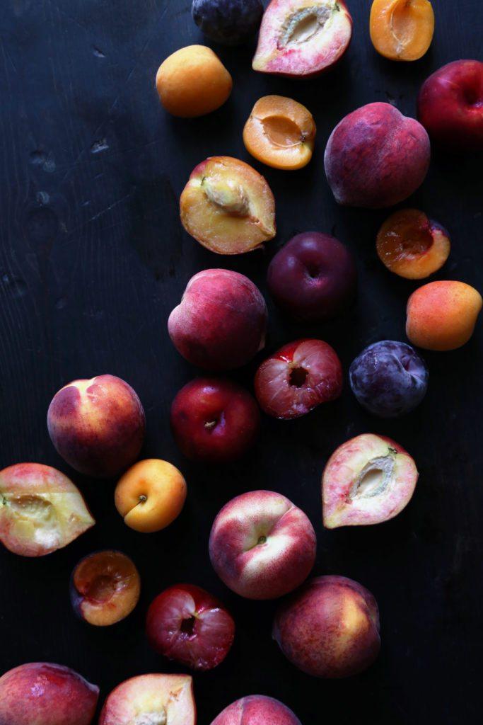 Stone Fruit Almond Tart | Free of gluten and refined sugar