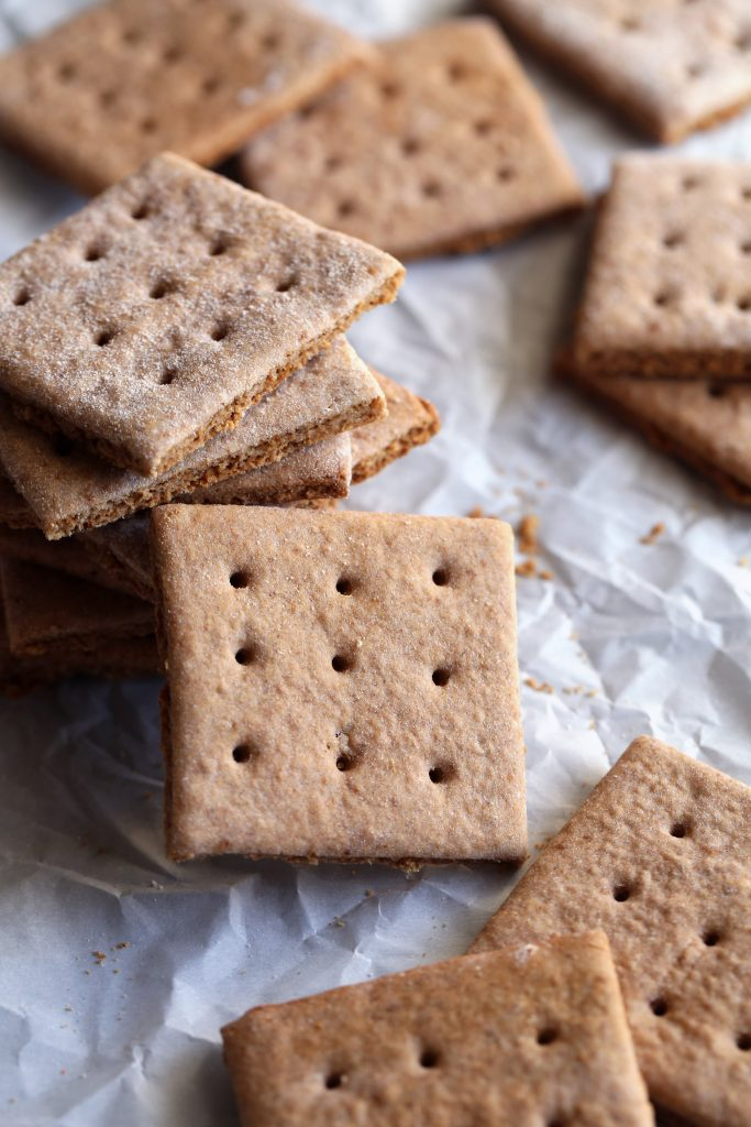 Gluten and Refined Sugar Free Graham Crackers | Perfect for s'mores & graham cracker crusts!