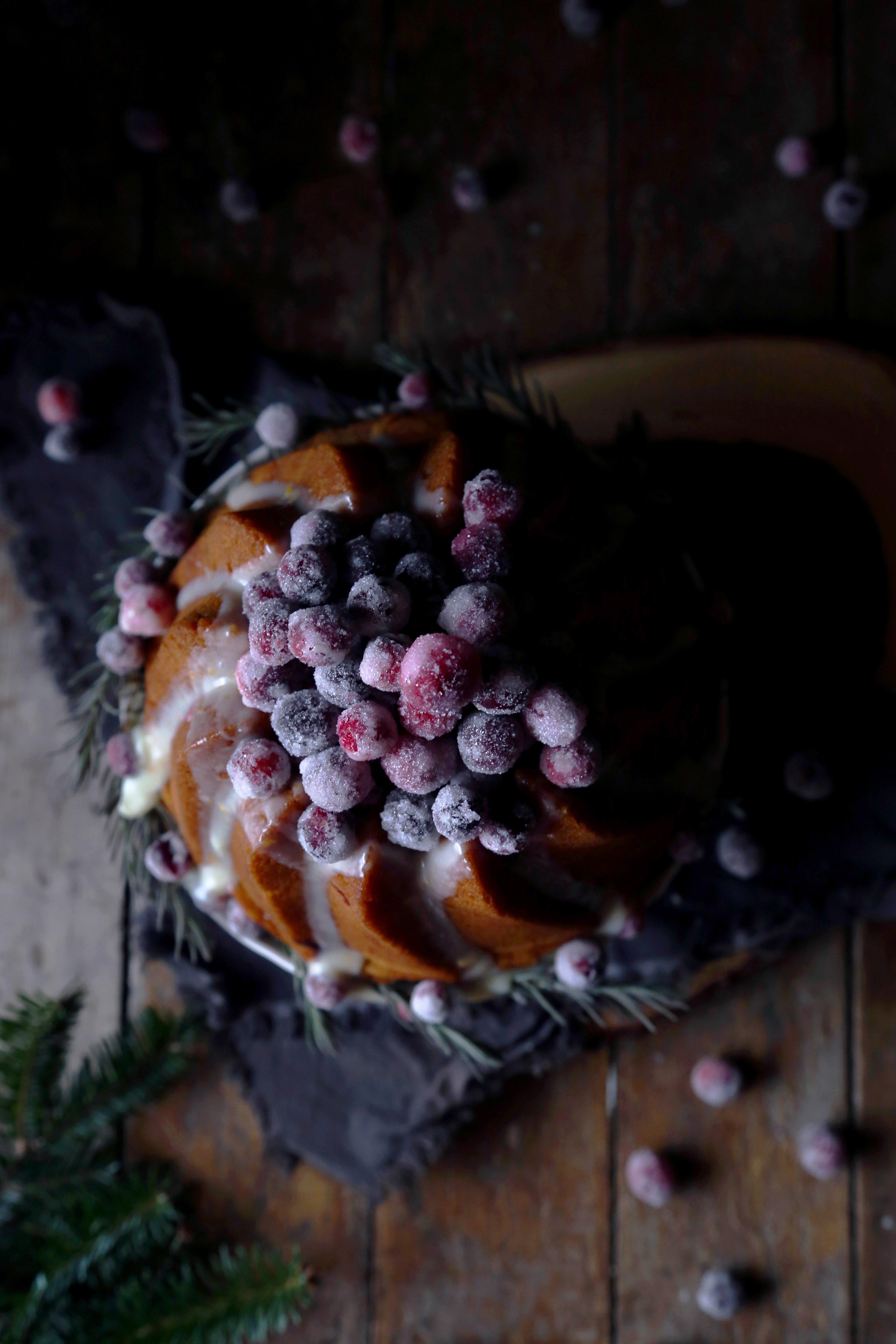 Orange-Cranberry Bundt Cake {Gluten-Free}
