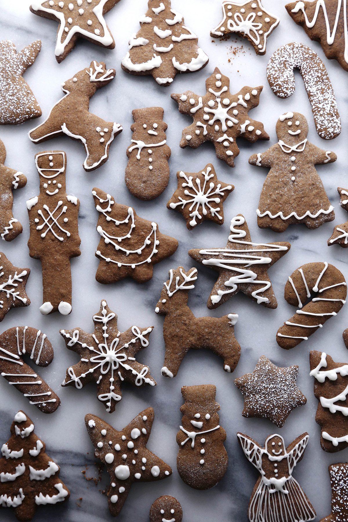 Gluten and Refined Sugar Free Gingerbread Cookies