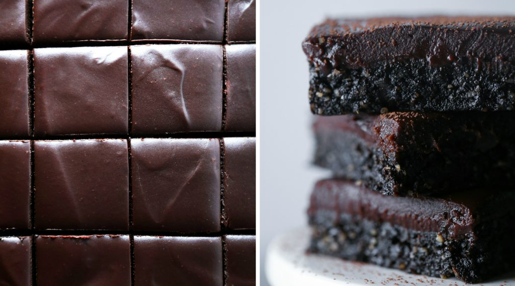 Fudgy No-Bake Brownies   Free of grains, gluten, dairy, and refined sugar