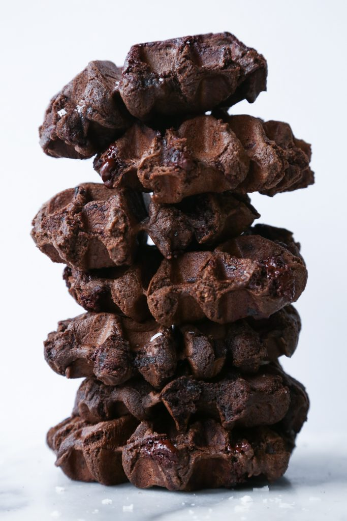 Double Chocolate Mochi Waffles | Gluten and Dairy Free