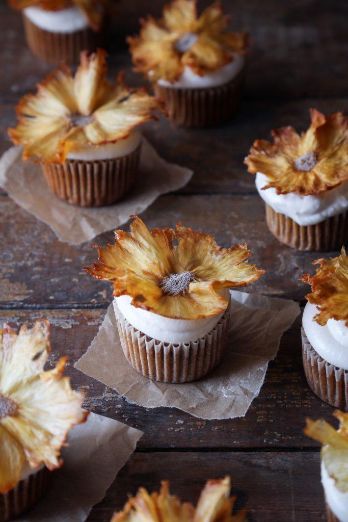 Naturally Sweetened Hummingbird Cupcakes   Free of Gluten, Dairy, and Refined Sugar.