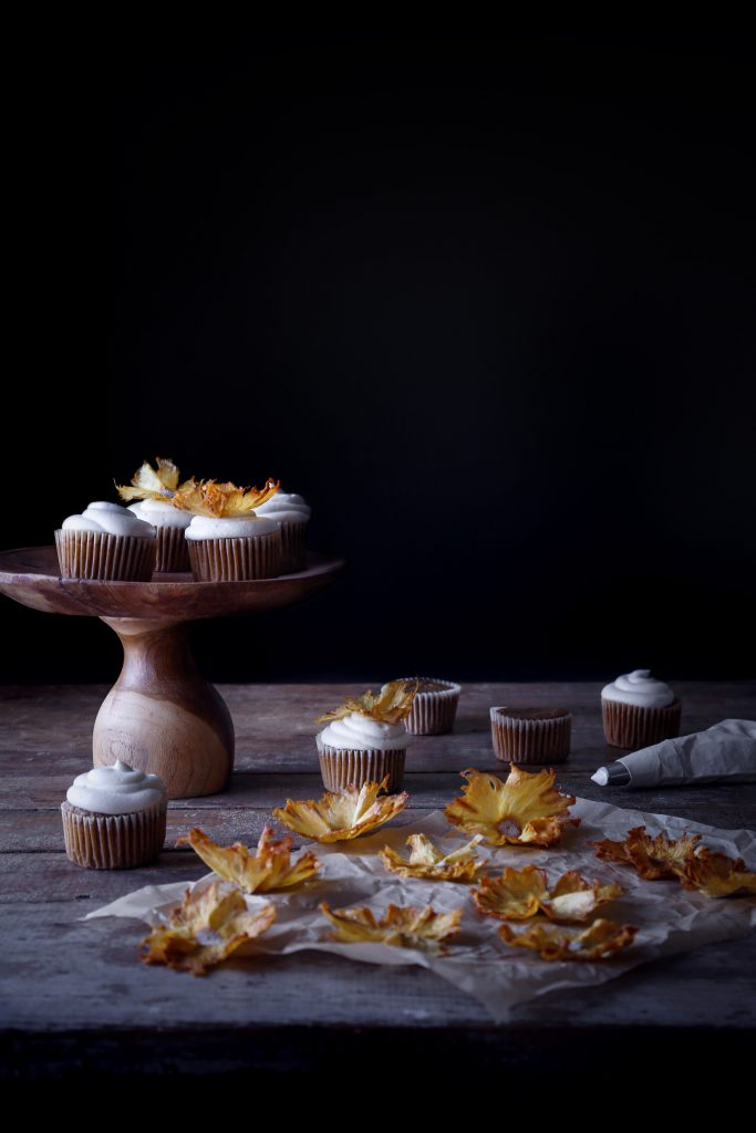 Naturally Sweetened Hummingbird Cupcakes | Free of Gluten, Dairy, and Refined Sugar.