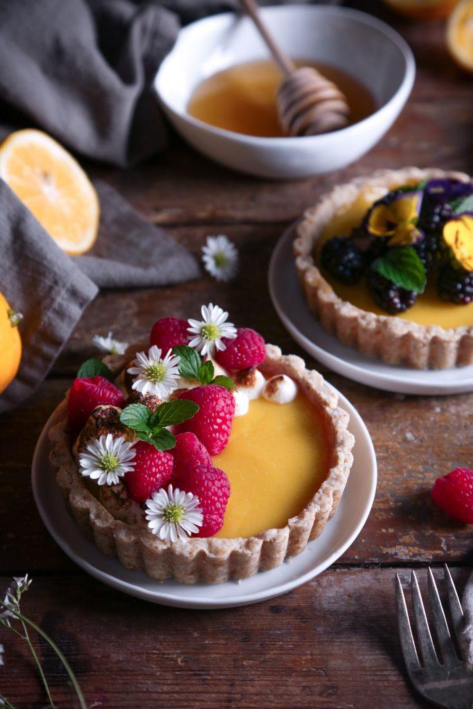 Honey Lemon Tarts | Gluten & Dairy Free