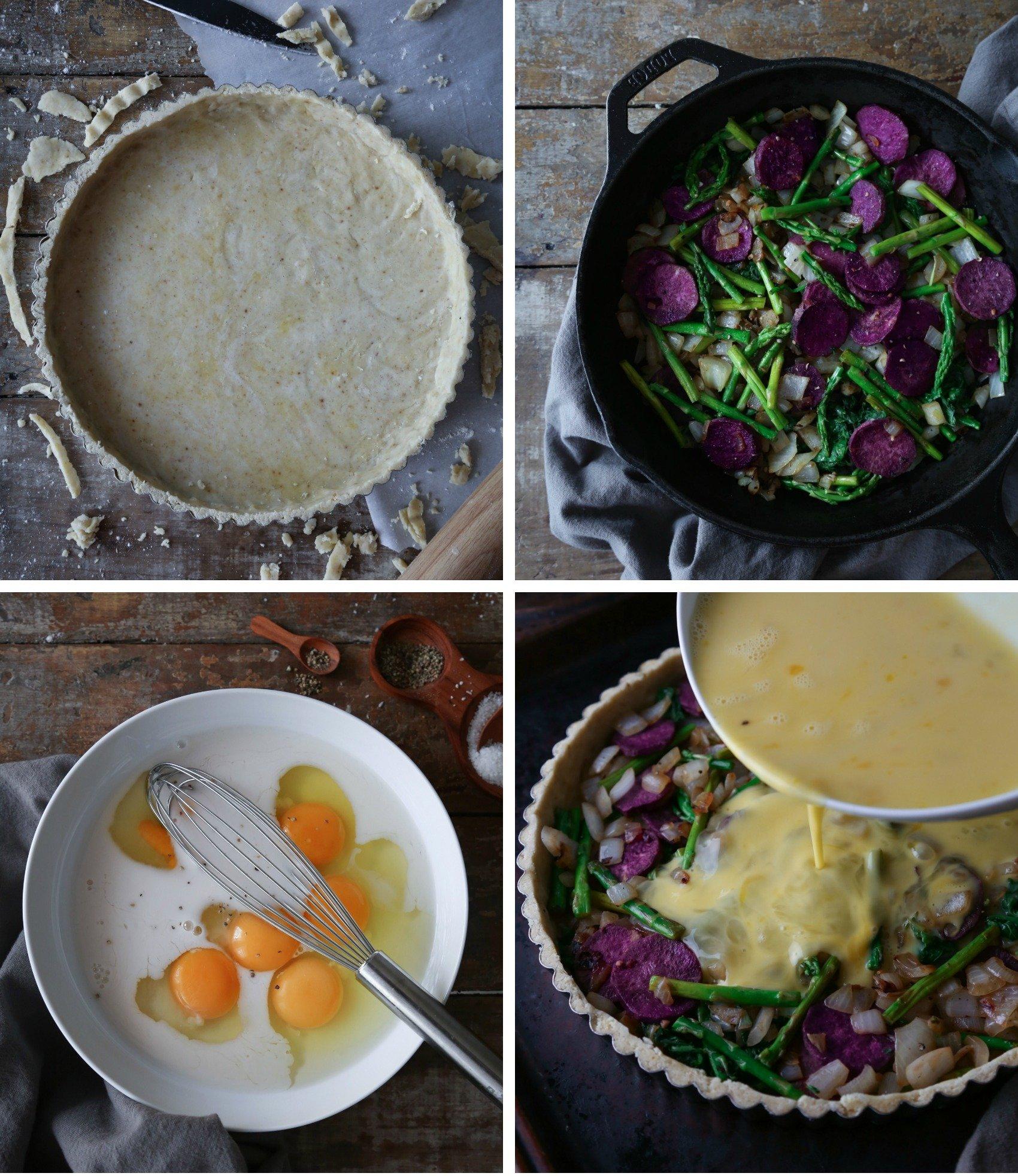 Simple Vegetable Quiche | Gluten & Dairy Free