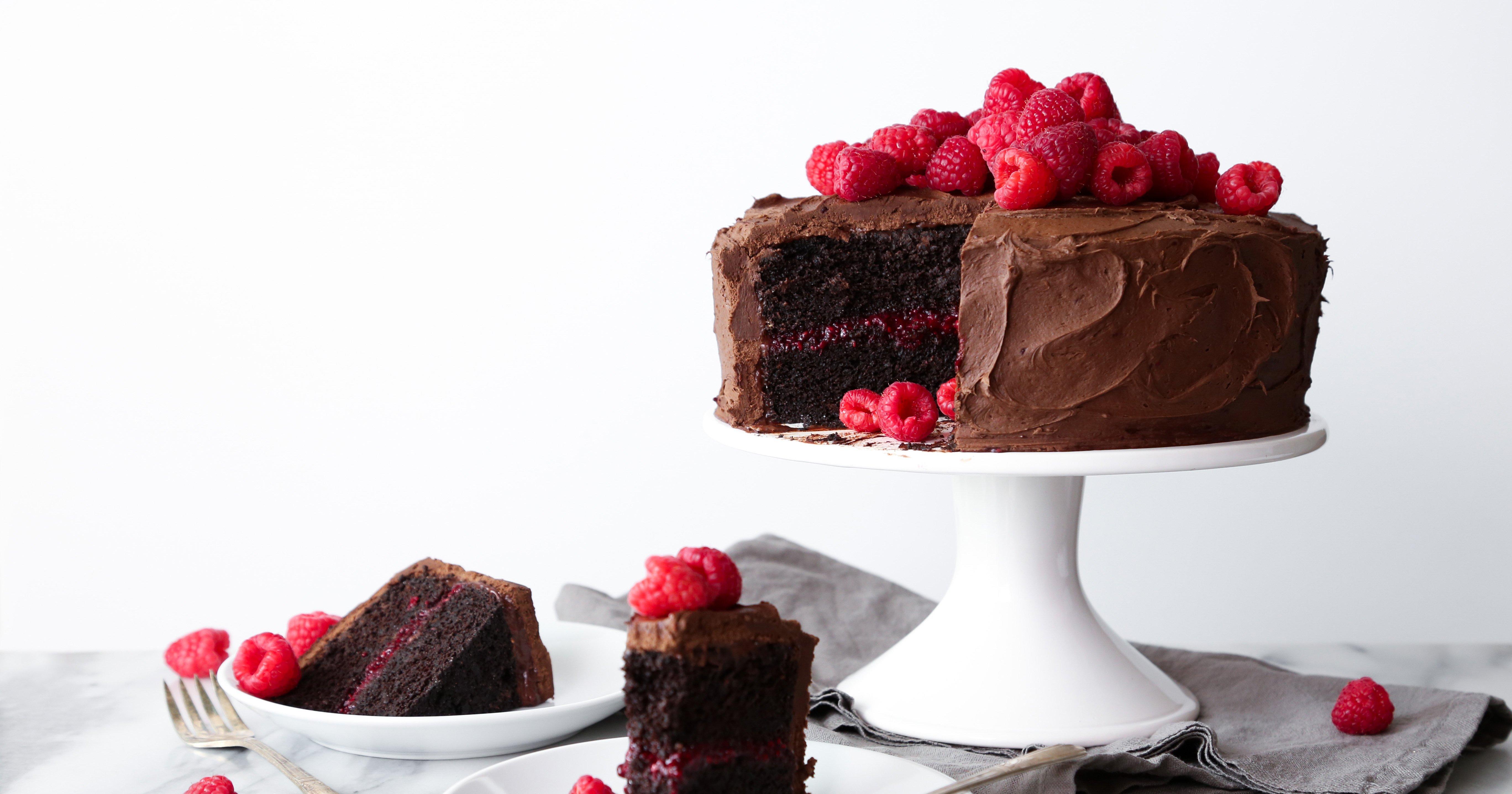 Chocolate Chia Cake Vegan