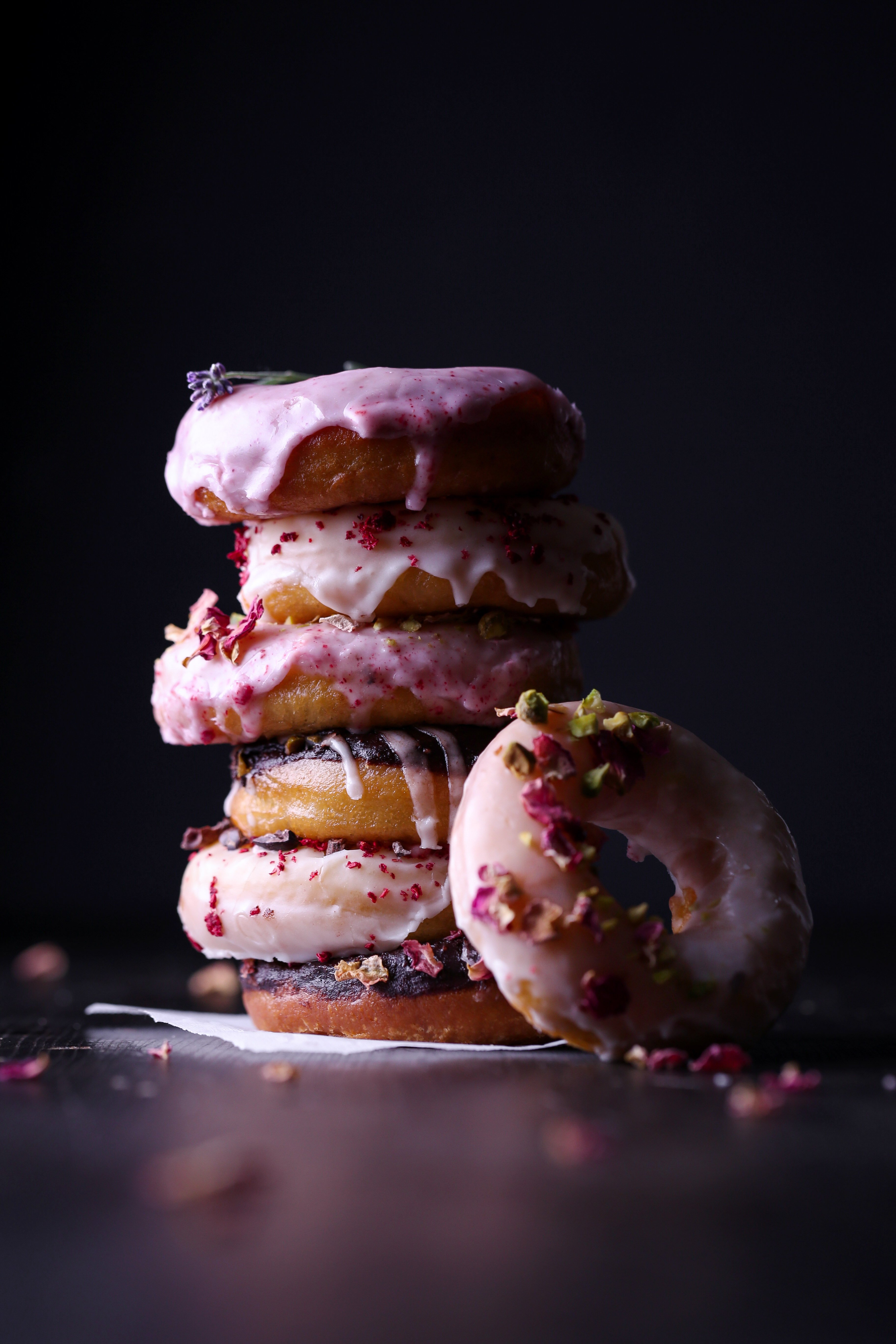 Honey Yeast Doughnuts | Gluten and dairy free variation included!