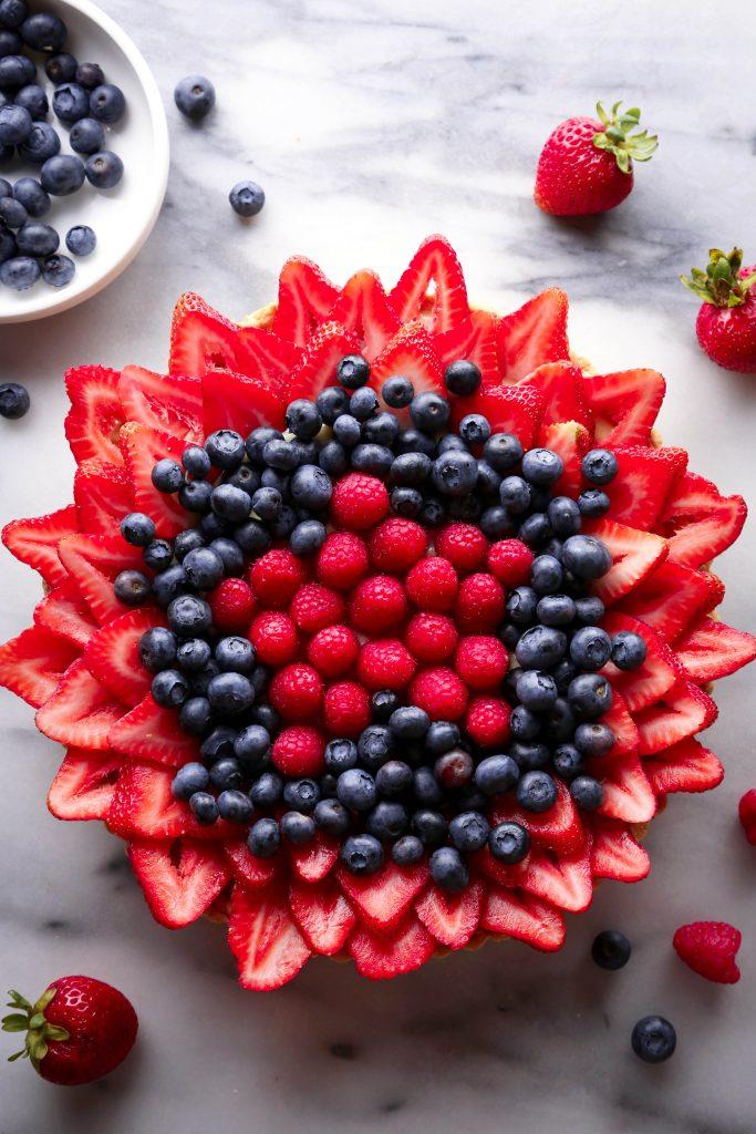 Mixed Berry Tart   Gluten, Dairy, & Refined Sugar Free