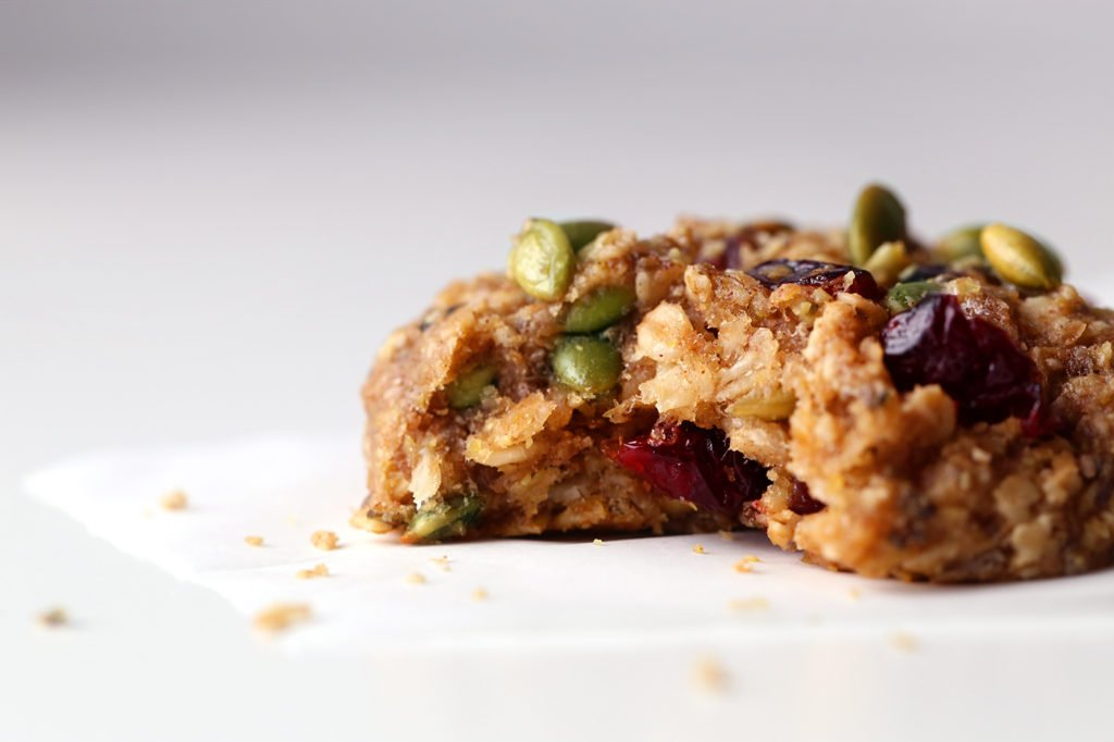 Superfood Breakfast Cookies | Vegan friendly. Gluten, dairy, and refined sugar free.