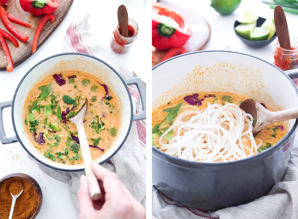 Coconut Curry Vegetable Soup | Wife Mama Foodie