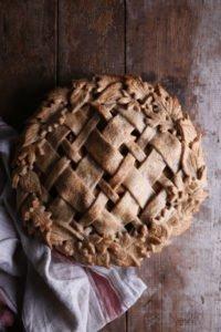 Vegan Spelt Apple Pie