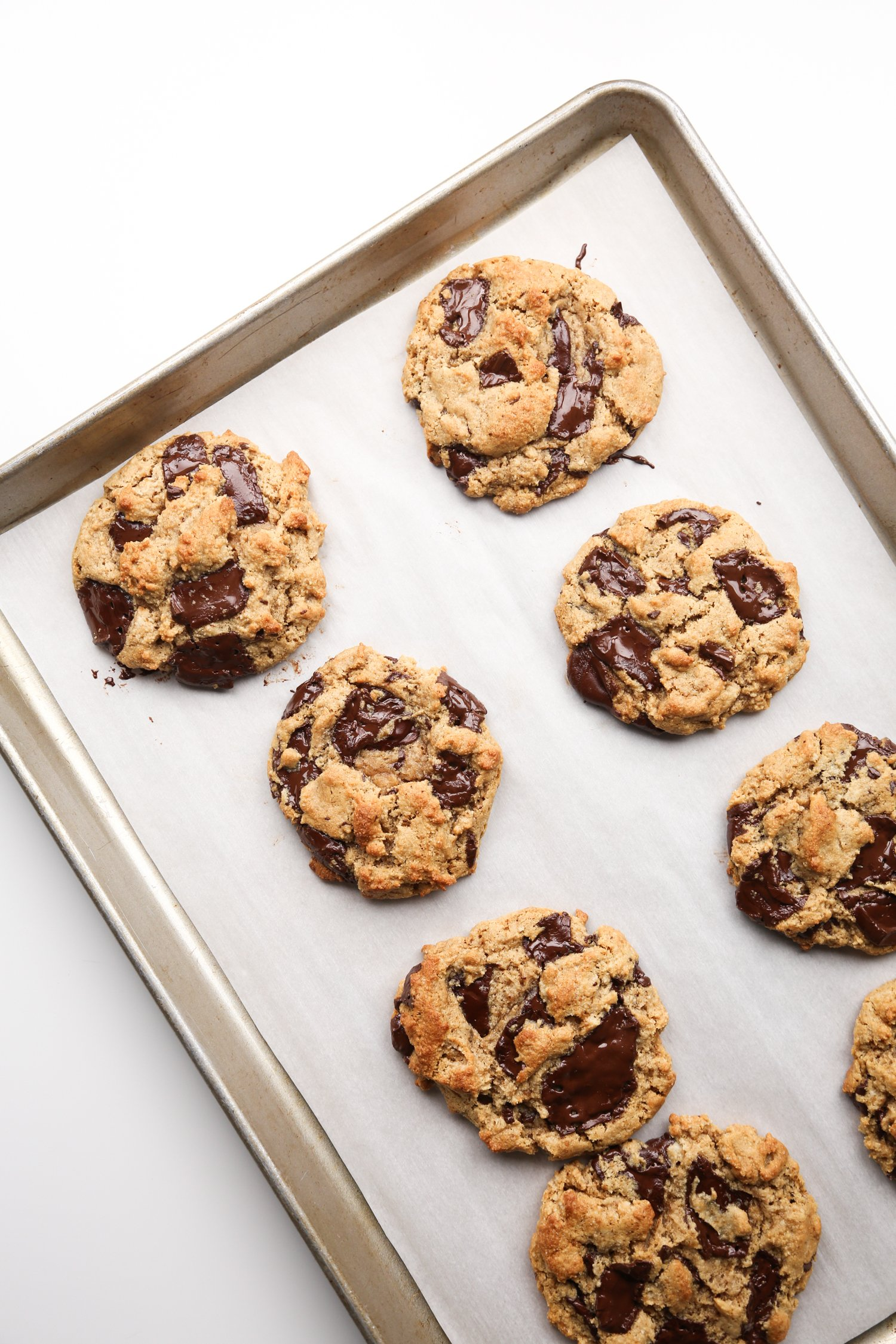 Vegan and Paleo Chocolate Chip Cookies