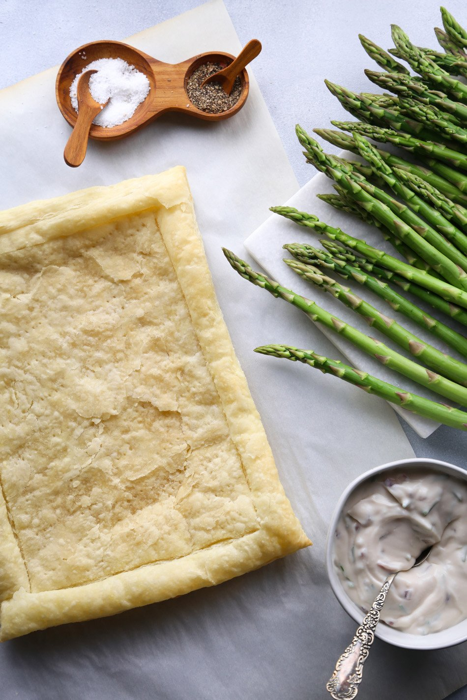 Simple Asparagus Tart | Dairy-Free/Vegan Friendly | Wife Mama Foodie