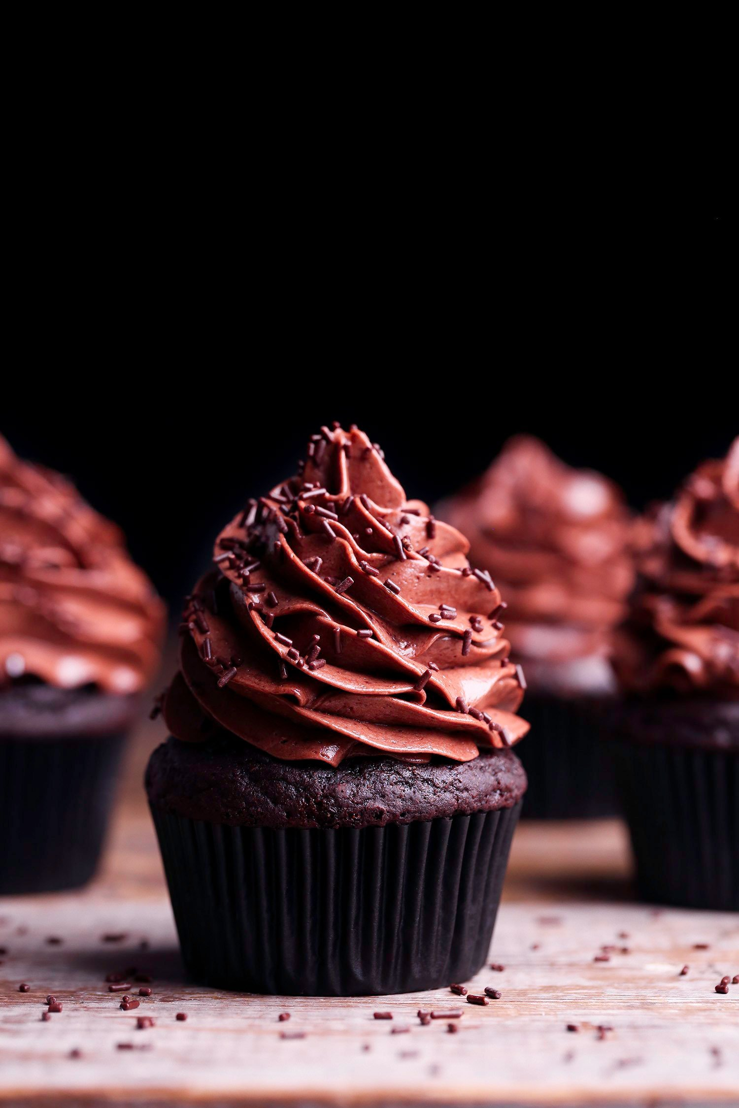 Simple Chocolate Cupcakes | Vegan Friendly with Gluten-Free Option Included