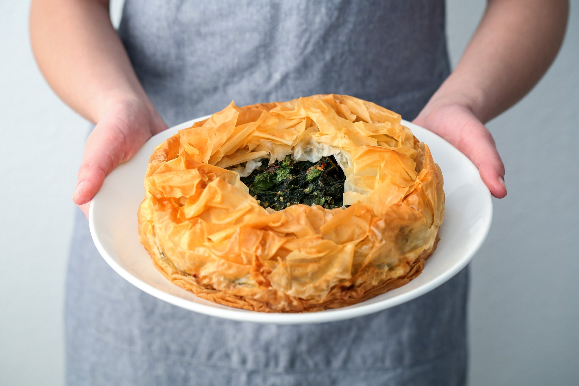 Spanakopita Pie | Wife Mama Foodie
